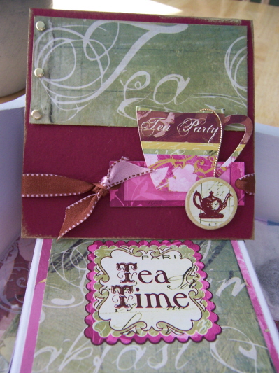 tea card invite
