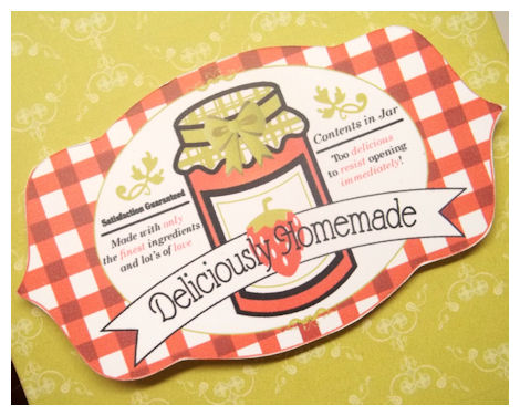 Home decor 3 d items my time my creations my stampendence for Jelly jar label template